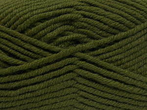 Fiber Content 70% Acrylic, 30% Wool, Khaki, Brand Ice Yarns, Yarn Thickness 5 Bulky  Chunky, Craft, Rug, fnt2-65717
