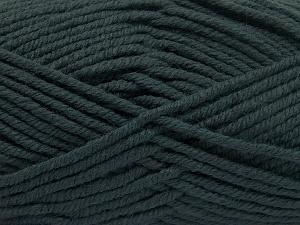 Fiber Content 70% Acrylic, 30% Wool, Brand Ice Yarns, Dark Green, fnt2-65718