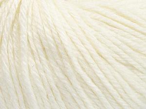 Fiber Content 40% Merino Wool, 40% Acrylic, 20% Polyamide, White, Brand Ice Yarns, fnt2-65726