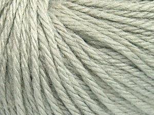 Contenido de fibra 40% Acrílico, 40% Lana Merino, 20% Poliamida, Light Mint Green, Brand Ice Yarns, fnt2-65730