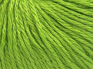 Fiber Content 40% Merino Wool, 40% Acrylic, 20% Polyamide, Light Green, Brand Ice Yarns, fnt2-65732