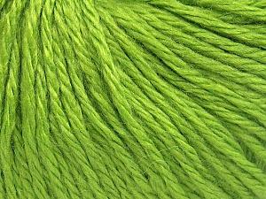 Contenido de fibra 40% Lana Merino, 40% Acrílico, 20% Poliamida, Light Green, Brand Ice Yarns, fnt2-65732