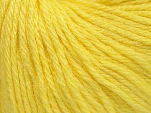 Contenido de fibra 40% Acrílico, 40% Lana Merino, 20% Poliamida, Light Yellow, Brand Ice Yarns, fnt2-65735