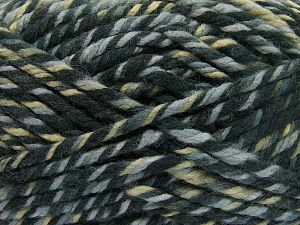 Fiber Content 75% Acrylic, 25% Superwash Wool, Khaki Shades, Brand Ice Yarns, Grey Shades, fnt2-65756