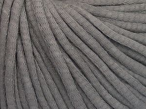 Fiber Content 67% Cotton, 33% Polyamide, Brand Ice Yarns, Dark Grey, fnt2-65767
