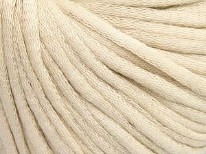 Fiber Content 67% Cotton, 33% Polyamide, Light Beige, Brand Ice Yarns, fnt2-65771