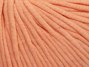 Fiber Content 67% Cotton, 33% Polyamide, Light Salmon, Brand Ice Yarns, fnt2-65778