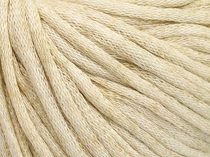 Fiber Content 67% Cotton, 33% Polyamide, Brand Ice Yarns, Cream melange, fnt2-65779