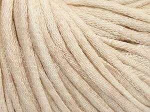 Fiber Content 67% Cotton, 33% Polyamide, Brand Ice Yarns, Beige Melange, fnt2-65780