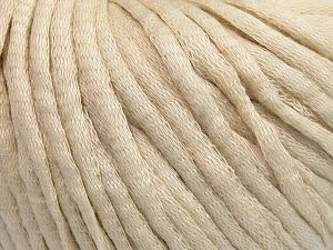 Fiber Content 67% Cotton, 33% Polyamide, Light Beige, Brand Ice Yarns, fnt2-65835