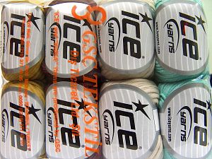 Fiber Content 67% Cotton, 33% Polyamide, Mixed Lot, Brand Ice Yarns, fnt2-65865