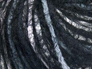 Fiber Content 60% Acrylic, 40% Polyamide, White, Brand Ice Yarns, Grey, Black, fnt2-65886