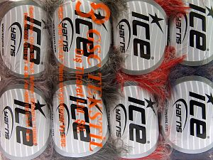 Contenido de fibra 100% Poliamida, Mixed Lot, Brand Ice Yarns, Yarn Thickness 4 Medium  Worsted, Afghan, Aran, fnt2-65923