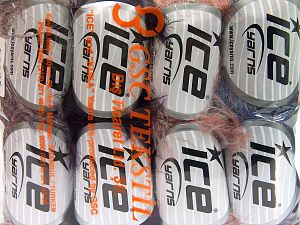Fiber Content 100% Polyamide, Mixed Lot, Brand Ice Yarns, fnt2-65926