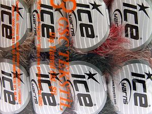 Contenido de fibra 100% Poliamida, Mixed Lot, Brand Ice Yarns, Yarn Thickness 4 Medium  Worsted, Afghan, Aran, fnt2-65928