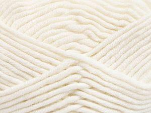Fiber Content 50% Acrylic, 50% Merino Wool, White, Brand Ice Yarns, fnt2-65938