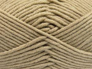 Fiber Content 50% Acrylic, 50% Merino Wool, Brand Ice Yarns, Beige, fnt2-65947