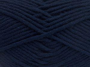 Fiber Content 50% Acrylic, 50% Merino Wool, Navy, Brand Ice Yarns, fnt2-65948