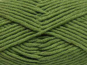 Fiber Content 50% Acrylic, 50% Merino Wool, Khaki, Brand Ice Yarns, fnt2-65951