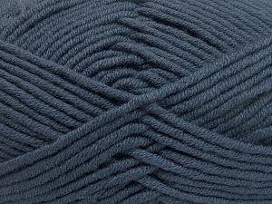 Fiber Content 50% Acrylic, 50% Merino Wool, Brand Ice Yarns, Dark Smoke Blue, fnt2-65953