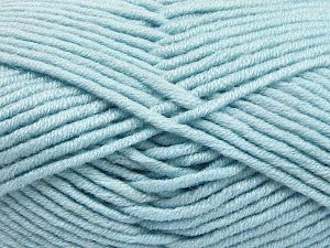 Fiber Content 50% Acrylic, 50% Merino Wool, Brand Ice Yarns, Baby Blue, fnt2-65954