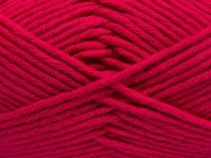 Fiber Content 50% Acrylic, 50% Merino Wool, Brand Ice Yarns, Fuchsia, fnt2-65965