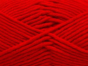 Fiber Content 50% Acrylic, 50% Merino Wool, Red, Brand Ice Yarns, fnt2-65966