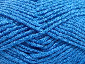 Fiber Content 50% Acrylic, 50% Merino Wool, Brand Ice Yarns, Blue, fnt2-65969