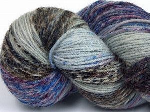 Please note that this is a hand-dyed yarn. Colors in different lots may vary because of the charateristics of the yarn. Also see the package photos for the colorway in full; as skein photos may not show all colors. Fiber Content 75% Super Wash Wool, 25% Polyamide, Maroon, Brand Ice Yarns, Camel Shades, Blue Shades, fnt2-66006