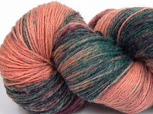 Please note that this is a hand-dyed yarn. Colors in different lots may vary because of the charateristics of the yarn. Also see the package photos for the colorway in full; as skein photos may not show all colors. Fiber Content 75% Super Wash Wool, 25% Polyamide, Salmon Shades, Brand Ice Yarns, Dark Green, fnt2-66022
