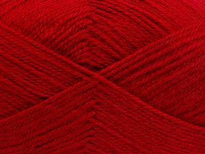 Fiber Content 100% Acrylic, Red, Brand Ice Yarns, fnt2-66052