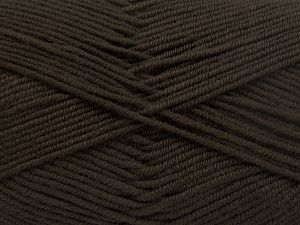 Fiber Content 100% Antipilling Acrylic, Brand Ice Yarns, Dark Brown, fnt2-66095