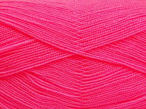 Very thin yarn. It is spinned as two threads. So you will knit as two threads. Yardage information is for only one strand. Fiber Content 100% Acrylic, Pink, Brand Ice Yarns, fnt2-66163