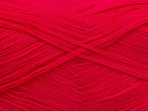 Very thin yarn. It is spinned as two threads. So you will knit as two threads. Yardage information is for only one strand. Fiber Content 100% Acrylic, Brand Ice Yarns, Gipsy Pink, fnt2-66168