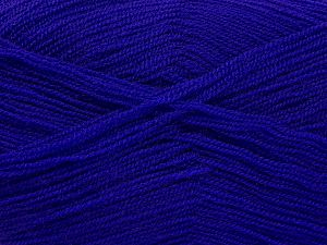 Very thin yarn. It is spinned as two threads. So you will knit as two threads. Yardage information is for only one strand. Fiber Content 100% Acrylic, Purple, Brand Ice Yarns, fnt2-66171