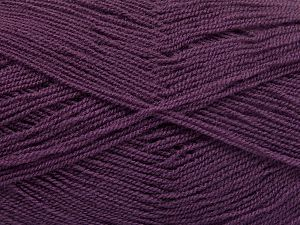 Very thin yarn. It is spinned as two threads. So you will knit as two threads. Yardage information is for only one strand. Fiber Content 100% Acrylic, Lavender, Brand Ice Yarns, fnt2-66176