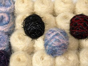 Custom Blends This mixed lot includes a total of 2000 gr (70.5 oz.) unlabeled yarn. There is no standard for ball weight. You will get what you see in the photo. Brand Ice Yarns, fnt2-66227