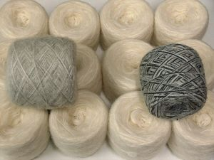Custom Blends This mixed lot includes a total of 2000 gr (70.5 oz.) unlabeled yarn. There is no standard for ball weight. You will get what you see in the photo. Brand Ice Yarns, fnt2-66230