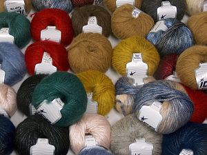 Rock Star Types This mixed lot includes a total of 2000 gr (70.5 oz.) yarn. There is no standard for ball weight. You will get what you see in the photo. Brand Ice Yarns, fnt2-66242