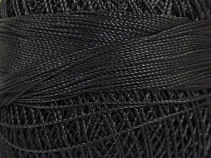 Fiber Content 100% Micro Fiber, Brand YarnArt, Black, Yarn Thickness 0 Lace  Fingering Crochet Thread, fnt2-17303