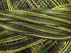 Fiber Content 100% Micro Fiber, Brand YarnArt, Grey, Green Shades, Yarn Thickness 0 Lace  Fingering Crochet Thread, fnt2-17336