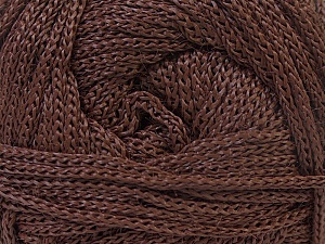 Width is 3 mm Fiber Content 100% Polyester, Yarn Thickness Other, Brand ICE, Brown, fnt2-21639
