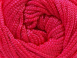 Width is 3 mm Fiber Content 100% Polyester, Pink, Yarn Thickness Other, Brand ICE, fnt2-21646