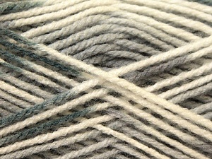Fiber Content 100% Baby Acrylic, White, Brand ICE, Grey, Black, Yarn Thickness 2 Fine  Sport, Baby, fnt2-22037