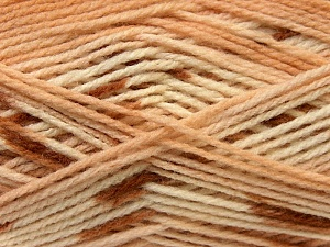 Fiber Content 100% Baby Acrylic, Brand ICE, Brown Shades, Yarn Thickness 2 Fine  Sport, Baby, fnt2-22038