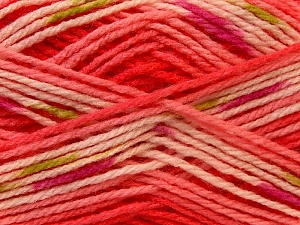 Fiber Content 100% Baby Acrylic, White, Red, Pink, Brand ICE, Green, Yarn Thickness 2 Fine  Sport, Baby, fnt2-22039