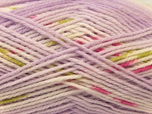 Fiber Content 100% Baby Acrylic, White, Pink, Lilac, Brand ICE, Green, Yarn Thickness 2 Fine  Sport, Baby, fnt2-22046