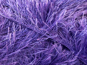 Fiber Content 100% Polyester, Lavender, Brand ICE, Yarn Thickness 5 Bulky  Chunky, Craft, Rug, fnt2-22729