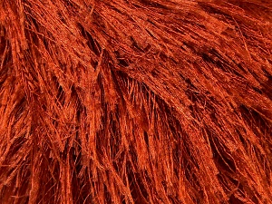 Fiber Content 100% Polyester, Brand ICE, Copper, Yarn Thickness 5 Bulky  Chunky, Craft, Rug, fnt2-22758