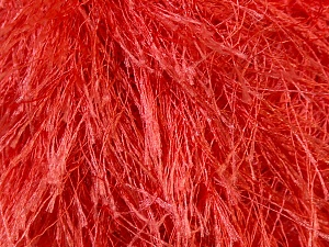 Fiber Content 100% Polyester, Salmon, Brand ICE, Yarn Thickness 5 Bulky  Chunky, Craft, Rug, fnt2-22760